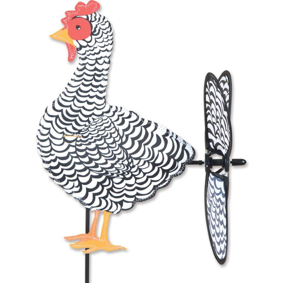 Black and White Chicken Petite Spinner