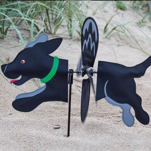 Black Lab Petite Wind Spinner - I AmEricas Flags