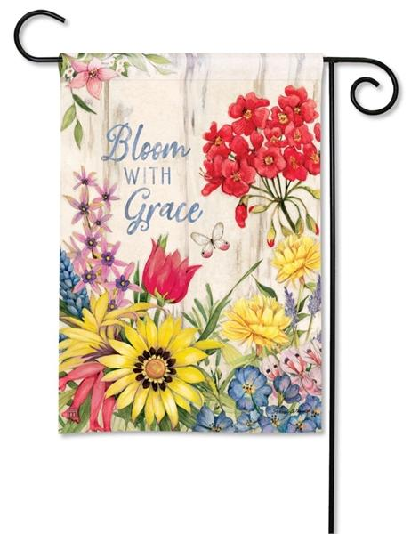 Bloom With Grace Garden Flag
