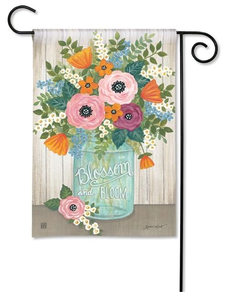 Blossom and Bloom Garden Flag