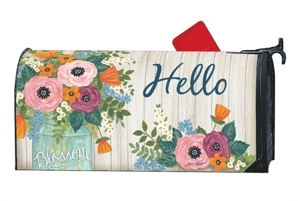 Blossom and Bloom Mailbox Cover