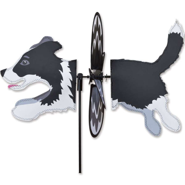 Border Collie Petite Wind Spinner