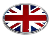 British Oval Chrome Car Emblem