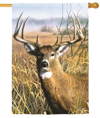 Buck in the Field Suede Reflections House Flag