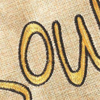 Burlap Cajun In My Soul Decorative Garden Flag