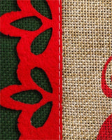 Burlap Merry Christmas Reindeer House Flag - All Decorative Flags/Holidays/Christmas Flags - I AmEricas Flags