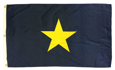 Burnet's 1st Texas Republic Flag 3x5 2-Ply Polyester