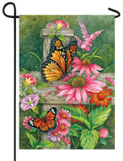 Butterfly Fence Garden Flag