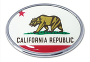 California Oval Car Emblem
