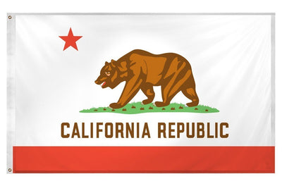 California State 3x5 Superknit Polyester Flag