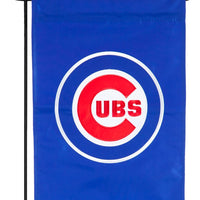 Chicago Cubs Applique Garden Flag