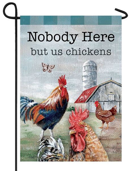 Chicken Farmyard Garden Flag - I AmEricas Flags