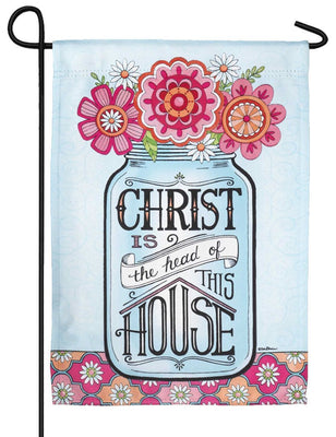 Christ is the Head Garden Flag