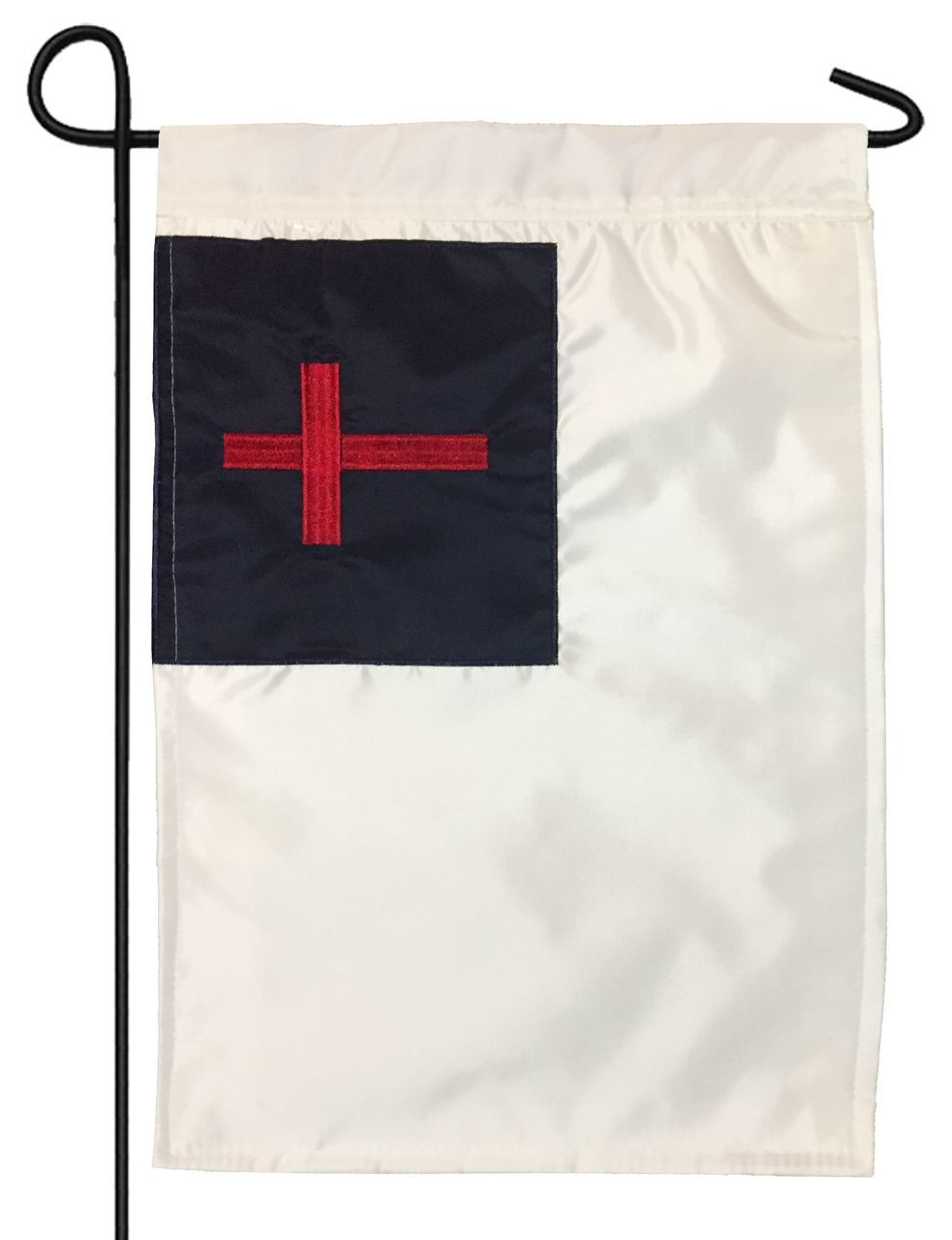 Christian Double Applique Garden Flag - All Decorative Flags/Themes/Inspirational and Religious Flags - I AmEricas Flags