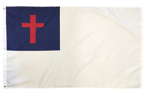 Christian Flag 3x5 Nylon