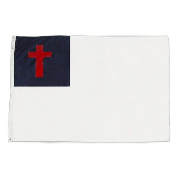 Christian Flag 3x5 Superknit Polyester
