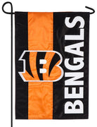 Cincinnati Bengals Embellished Applique Garden Flag