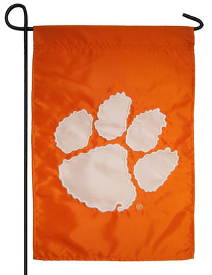 Clemson University Applique Garden Flag