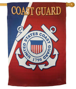 Coast Guard Seal Sublimated House Flag