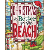 Coastal Christmas is Better at the Beach House Flag - All Decorative Flags/Holidays/Christmas Flags - I AmEricas Flags