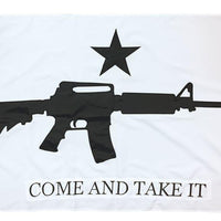 Come and Take it M4 Rifle Flag 3x5 2-Ply Polyester