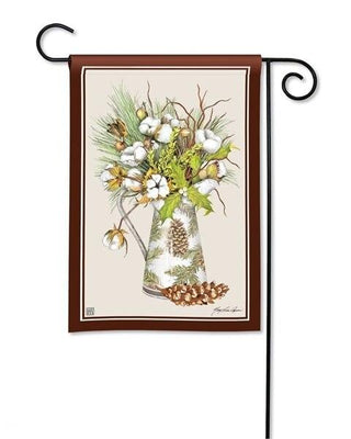 Cotton and Pine Garden Flag