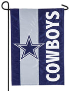 Dallas Cowboys Embellished Applique Garden Flag