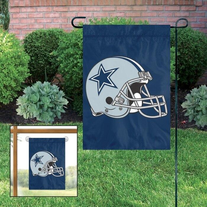 Dallas Cowboys Applique Garden Flag