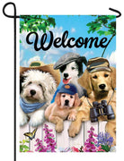 Dapper Dogs Garden Flag