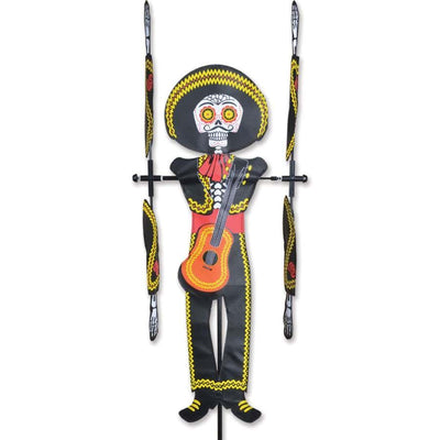 Day of the Dead Man WhirliGig Wind Spinner