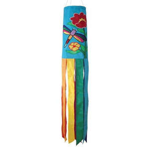 Dragonfly Embroidered Windsock
