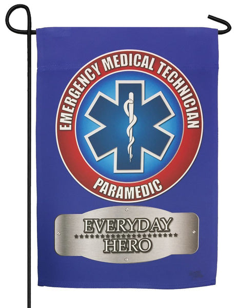 EMS Paramedic Sublimated Garden Flag