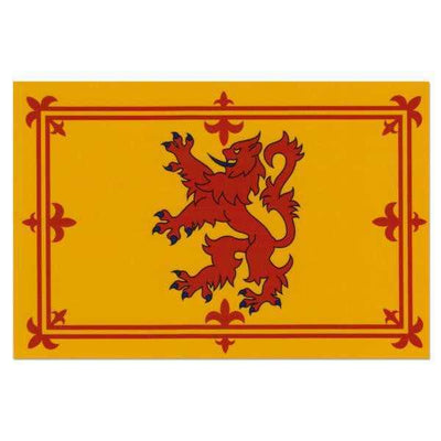 Scotland Royal Lion Rampart Superknit Polyester 3x5 Flag