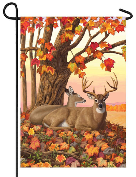Fall Deer Garden Flag - I AmEricas Flags