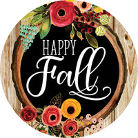 Fall Floral Accent Magnet