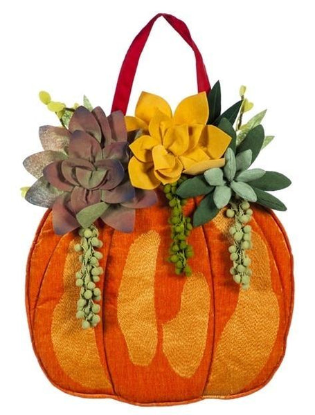 Fall Succulents Decorative Door Hanger - Door Hangers/Fall Christmas Winter Door Hangers - I AmEricas Flags