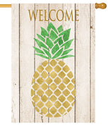 Farmhouse Pineapple House Flag