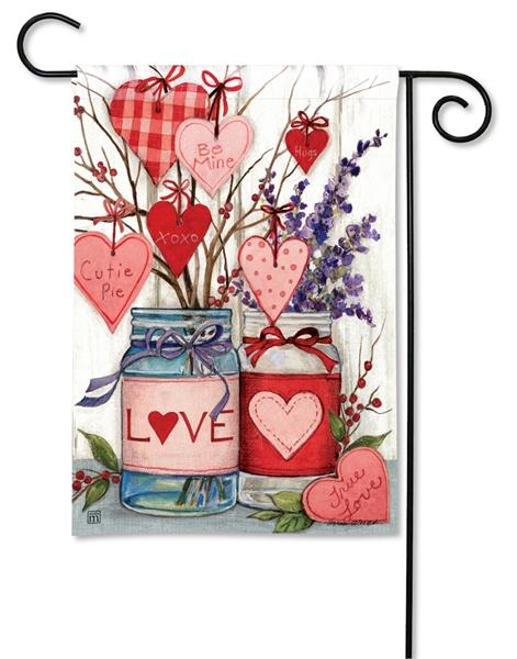 Filled With Love Garden Flag - All Decorative Flags/Holidays/Valentine's Day Flags - I AmEricas Flags