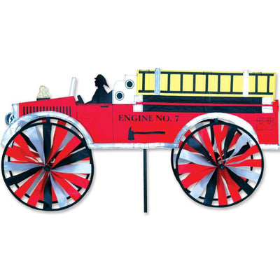 Fire Truck Large Wind Spinner