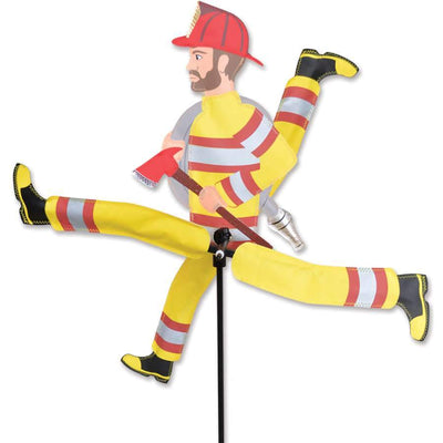 Firefighter Large WhirliGig Wind Spinner