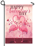 Flamingo Love Garden Flag