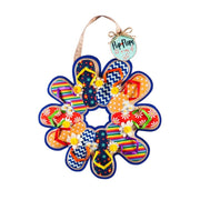 Flip Flop Wreath Decorative Door Hanger