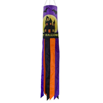 Fright Night Embroidered Windsock