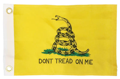 Gadsden Don't Tread On Me 2-Ply Polyester 12x18 Boat Flag