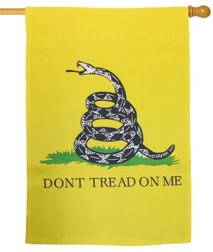 Gadsden Don't Tread On Me House Flag