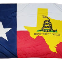 Gadsden Texas Shape Texas 3x5 Flag - I AmEricas Flags