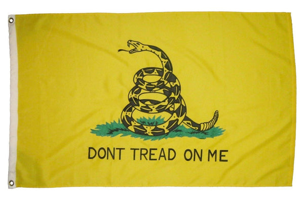 Gadsden Don't Tread On Me Flag 3x5 2-Ply Polyester - Historical Flags/Revolutionary War Flags - I AmEricas Flags