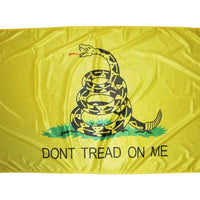 Gadsden Don't Tread On Me Flag 3x5 Superknit Polyester