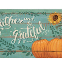 Gather and be Grateful Mailbox Cover