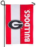 Georgia Bulldogs Embellished Applique Garden Flag